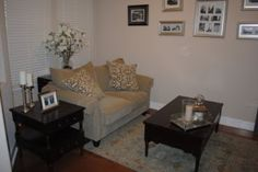 Living Room by House of Thrifty Decor Under $500 Room Make Over