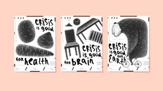 Design vs Crisis / posters on Behance