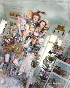 My Arts Desire blog --- Could be my mom's doll design creepy studio