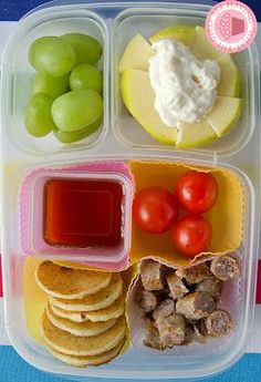 Breakfast packed for lunch! #easylunchboxes