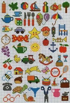200 Cross Stitch – Page 20 Tiny Cross Stitch, Cross Stitch Books, Cross Stitch Needles, Cross Stitch Borders, Cross Stitch Designs, Cross Stitching, Cross Stitch Embroidery, Cross Stitch Patterns, Cross Stitch For Kids