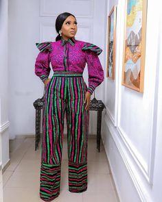 Beautiful Ankara Styles, Fashion Gallery, African Fashion, Jumpsuit, Clothing, Dresses, Pants, Instagram, Ideas