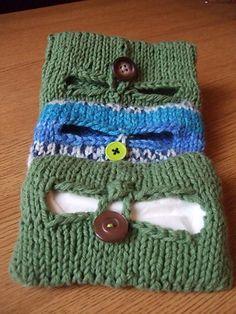 Ravelry: Seamless Tissue Cozy pattern by Breeanna Sveum