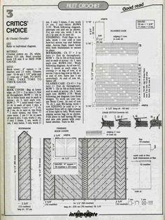 Clube do Crochê: Capa para Agenda (com gráfico) 2/2