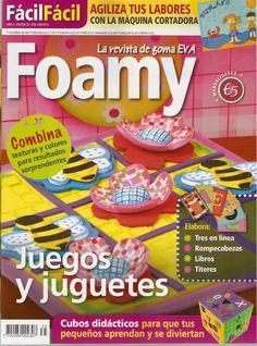 Revistas de manualidades Gratis: Revista de Foamy gratis