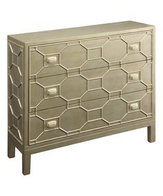 Take a look at the Gold Accent Chest on #zulily today!