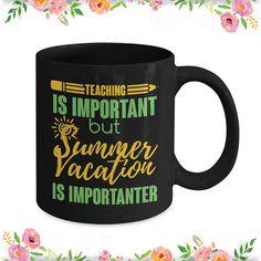 Funny Teacher Mug Teacher Gift Teaching Mug Vacation Mug