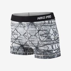 Nike Pro hypercool compression printed women's shorts.