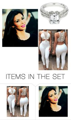 """""""- Kim"""" by pandababy17 ❤ liked on Polyvore featuring art"""