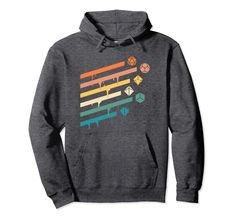 830510836 Amazon.com: Minimalist Polyhedral Dice Set Colors D20 Collector Hoodie:  Clothing