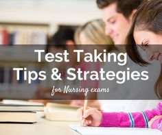 Here are must read 10 effective test-taking skills, tips and strategies that can help nurses during their NCLEX or NLE exams.