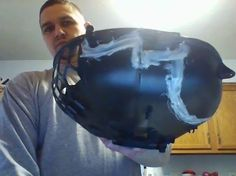 """""""Thanks to J-B Weld two-part plastic bonder epoxy I was able to fix this blower motor cover and save myself some money. Great product!"""" #jbweld http://www.jbweld.com/product/j-b-weld/"""