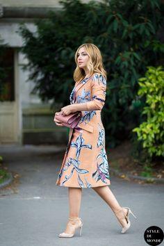 Nasiba Adilova Street Style Street Fashion by STYLEDUMONDE Street Style Fashion Blog