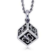1707b4a6efcd Metrosexual love super personality retro square anchor steel pendant  including chain SP173 · Punk JewelryGothic JewelryMen NecklacePendant ...