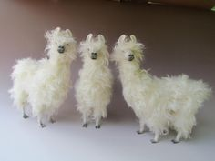 instantly fell in love, SO CUTE! Llama Standing by Colinscreatures on Etsy, $119.00