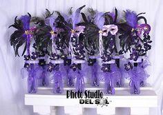 10 Quinceanera sweet sixteen Masquerade Centerpiece wholesale lot