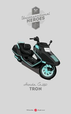 Awesome Rides - Tron by Gerald Bear *