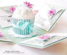 Handmade Birthday exploding box card