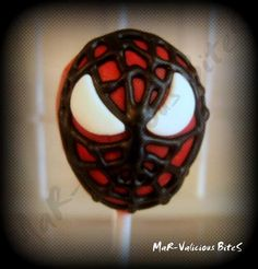 Spiderman Cake Pops and Cookies