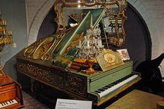 1885 Pleyel Art Case Grand Piano  Taken at the Liberace Museum, Las Vegas, Nevada.