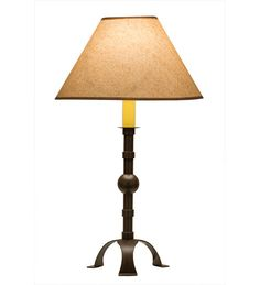 """Stable Buffet 27"""" H Table Lamp with Empire Shade"""