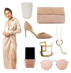 """""""Lets remain neutral."""" by azaleasf ❤ liked on Polyvore featuring Azalea, SOKO, Norden, Context, Sam Edelman and Crap"""