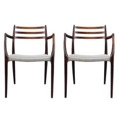 Blueprint eiffel wood dining chairs price dining room ideas pair of niels otto moller rosewood dining chairs with arms made 1962 69 from malvernweather Choice Image