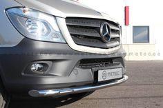 Metec CityGuard til Mercedes-Benz Sprinter m/LED - FrontGuard. Mercedes Benz Sprinter, Campervan, Vans, Led, Vehicles, Van, Rolling Stock, Vehicle