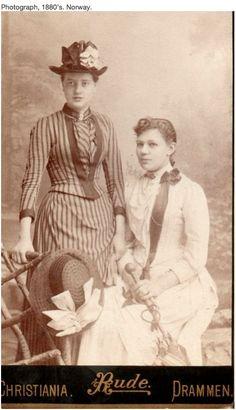 Norwegian attire 1880