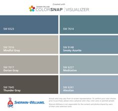 Sherwin Williams Requisite Gray And Peppercorn With Accent
