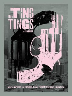 The Ting Tings par Scott Spooner