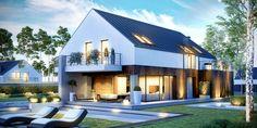 Projekt domu CPT KONCEPT-10 - DOM CP1-10 - gotowy projekt domu