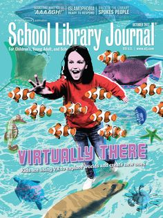 Technology is a moving target, editorially speaking. But  two elements made virtual reality a cover subject: popular appeal and a critical mass of early adopters who are doing interesting things with VR and students. Cover illustration by Joe Magee