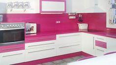 Ellas en Linea: Cocinas rosa
