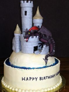 Malificent Wedding Cake