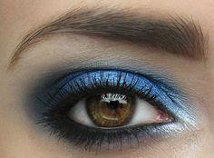 Shimmery blue