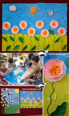 A spring picture. Perfect for summer arts and crafts | http://delphiboston.org/summeractivities/