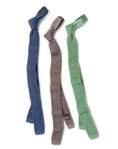 A silk knit tie instantly adds texture and dimension to any shirt its paired with, and lifts the most basic, flat suit to stylish new heights. With one from Charvet, youre not only getting a piece that can reinvigorate an entire wardrobe, but also a luxury product from the nearly 200 year-old house.