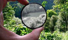 Infrarood fotografie. De infrarood straling werd ontdekt door William Herschel rond 1800. Infraroodfotografie, een magische aantrekkingskracht, het laat een wereld zien die anders verborgen blijft. Het zichtbare spectrum loopt van ca. 380 - 750 nm, na ca. 750 nm het infrarode gebied. #fotografietip