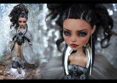 Monster High Repaint Art Doll OOAK – Cleo De Nile | Warrior Adamanthea | Created for Mary