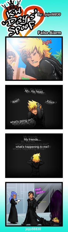 KH 358 days Spoof: false alarm by jojo56830 on DeviantArt