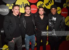 Creator/producer Jeff Davis and actors Cody Christian, Dylan Sprayberry, and Khylin Rhambo attend The Buzzies, BuzzFeed's Pre-Emmy party produced by Pen&Public, at HYDE Sunset: Kitchen + Cocktails on September 14, 2016 in West Hollywood, California.
