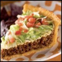 TACO PIE on MyRecipeMagic.com #taco #pie