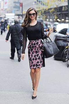 Miranda Kerr Work Style