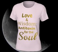 love, wise, soul - Large / Pink