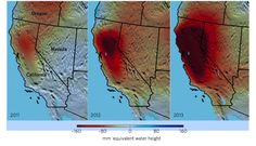These Maps of California's Water Shortage Are Terrifying   Mother Jones