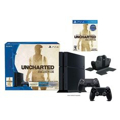 PlayStation 4 Uncharted Nathan Drake Collection Bundle with Charging Station - $349.99  $90 Kohl's Cash http://www.lavahotdeals.com/us/cheap/playstation-4-uncharted-nathan-drake-collection-bundle-charging/44388