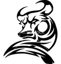 fire bull tattoo - Google Search