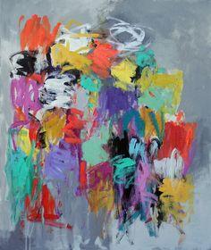 Julie Schumer, 48 X 40, acrylic on canvas www.julieschumer.com