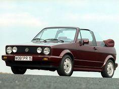 """Volkswagen Golf Cabrio """"Etienne Aigner"""" (1990)."""